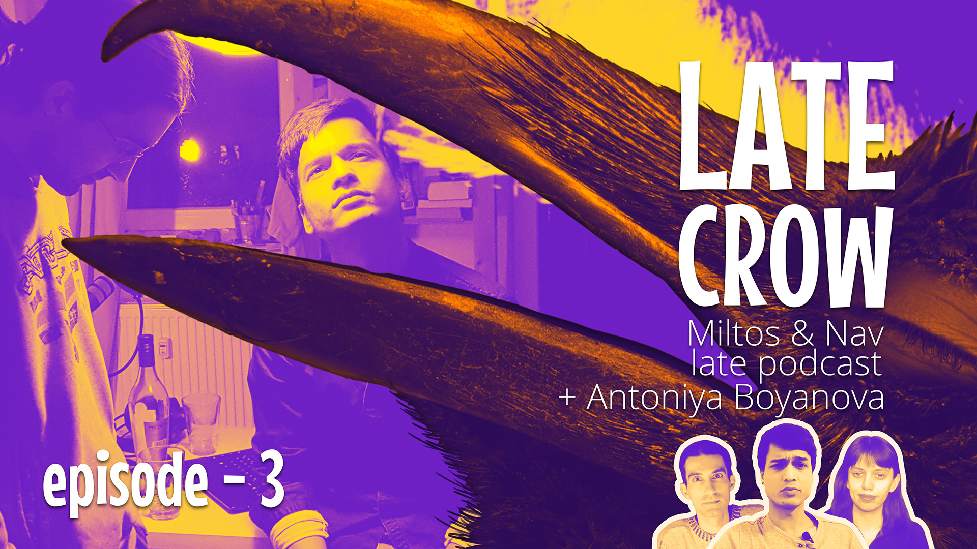 """Blame Corona"" Late Crow new episode"